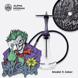 Кальян Alpha Hookah - Model X Jocker (Джокер)